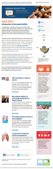 Member Newsletter - April 2015 - Special Edition