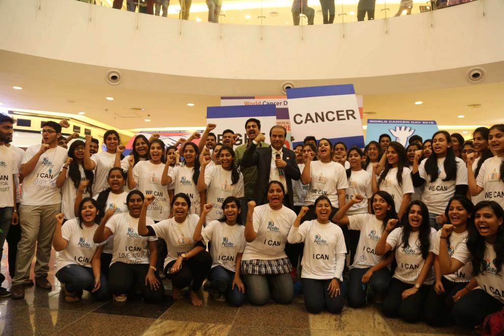 Apollo Cancer Hospital_WCD2016_Flash Mob 3.JPG